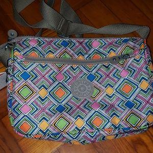 Kipling Geo Callie Across Body Handbag